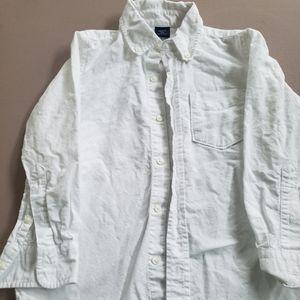 Boys gap white dress shirt